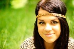 Natural girl Stock Photos
