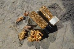 Natural gold Stock Photos