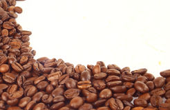 Natural grain of coffee Royalty Free Stock Images
