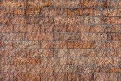 Natural granite stone tiles wall Royalty Free Stock Photography