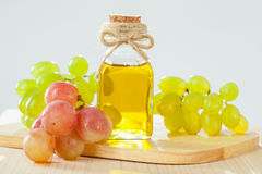 Natural grapeseed oil Stock Photos