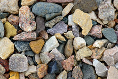 Natural gravel background Royalty Free Stock Photo