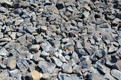 Natural gravel Stock Photography