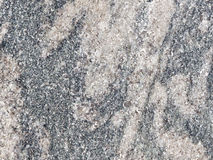 Natural gray granite interspersed with Stock Photo