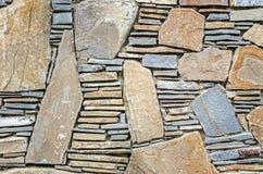 Natural gray stone wall texture Stock Photo