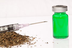 Natural Green Injection Royalty Free Stock Image