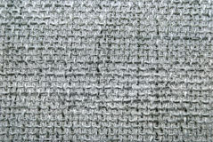 Grey burlap texture background Stock Images