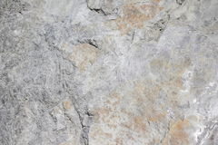 Natural grey rock wall structure Stock Images