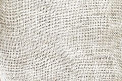 Natural grey sackcloth canvas textured for background.  Royalty Free Stock Photo