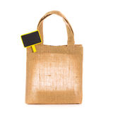 Natural gunny bags Stock Photos