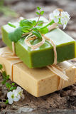 Natural Handmade Soap Stock Photos