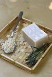 Natural handmade soap stock image