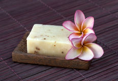 Natural handmade soap Stock Photography