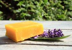 Natural Handmade Soaps Stock Photo