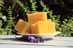 Natural handmade soaps Stock Image