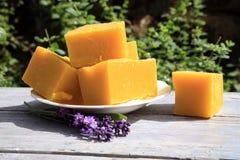 Natural handmade soaps Royalty Free Stock Photo