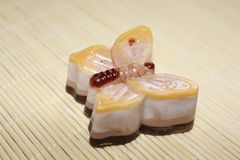 Natural handmade soaps made from natural ingredients. It`s great to take care of your skin Stock Image