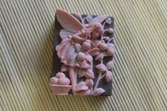 Natural handmade soaps made from natural ingredients. It`s great to take care of your skin Royalty Free Stock Image