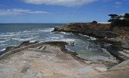 Natural harbour, Hermanus. Stock Photos