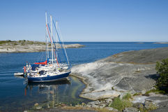 Natural harbour Stock Image