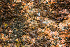 Natural hard rock or stone texture surface as background Stock Image
