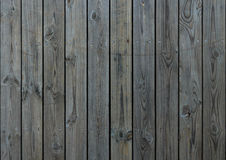 Wooden. Balcony constructed of solid wood gray Stock Image