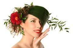 Natural hat Royalty Free Stock Image