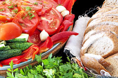 Natural and healthy food Stock Photo