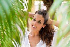 Natural healthy woman portrait Stock Images