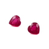 Natural Heart Shaped Rubies