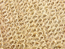 Natural hemp fibre texture background sackcloth Stock Photo