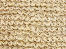 Natural hemp fibre texture background sackcloth Royalty Free Stock Photo