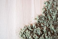Natural herbal anti-inflammatory, antimicrobial, hemostatic - organic sage tea. Royalty Free Stock Images