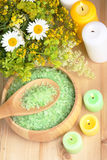 Natural Herbal Products Royalty Free Stock Photography