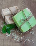 Natural Herbal Soap Stock Photos