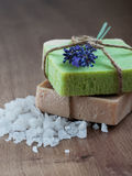Natural Herbal Soap Royalty Free Stock Images