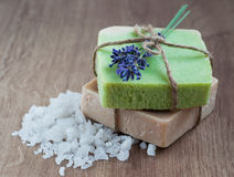 Natural Herbal Soap Royalty Free Stock Image