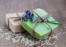 Natural Herbal Soap Stock Photos