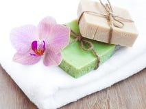 Natural Herbal Soap Royalty Free Stock Photo
