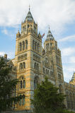 Natural History Museum. In Kensington London,built between 1873 and 1880, in neo Gothic style was designed by Alfred Waterhouse using terracotta tile cladding Royalty Free Stock Image