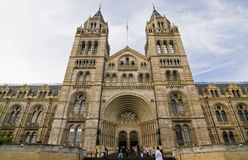 Natural History Museum stock image