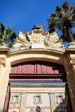 Natural History museum entrance, Mdina. Royalty Free Stock Photography