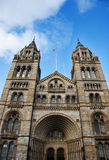 Natural History Museum - Entrance Towers Royalty Free Stock Photo