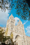 Natural History Museum at London Stock Photography