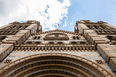 Natural History Museum in London. Building and details Stock Images