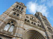 Natural history museum in London Royalty Free Stock Photo