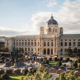 Natural History Museum in Maria-Theresien-Platz in Vienna Royalty Free Stock Photography