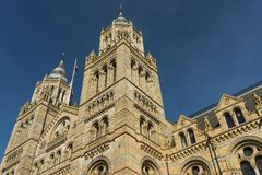 Natural History Museum. Building of London Royalty Free Stock Photo