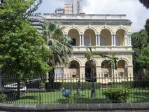 Natural history museum, Port Louis, Mauritius stock photo