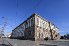 Natural History Museum of Porto University building in Gomes Teixeira Square Stock Photo